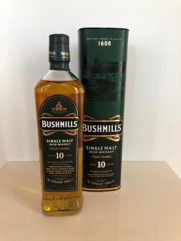 Bushmills Single Malt Whiskey 0,7l / 10J. 40% Vol.